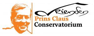 Vrienden Prins Claus Conservatorium Logo